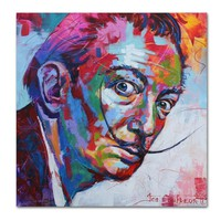 SELFLESSLY Salvador Dali Wall Art Posters and Prints Spanish artist colorful Photo Canvas Painting Wall Picture for Living Room
