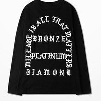 Kanye Pablo T Shirt Coconut Fashion Hipster Shirts I Feel Like Pablo Print Clothes For Men Gothic Letter T-shirt Men Cotton