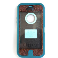 Otterbox Case iPhone 5 Glitter Cute Sparkly Bling Defender Series Custom Case Chocolate /Mineral Blue