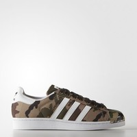 Adidas Originals Men's Superstar Shell Toe Camo Shoes Size 11 us S75183