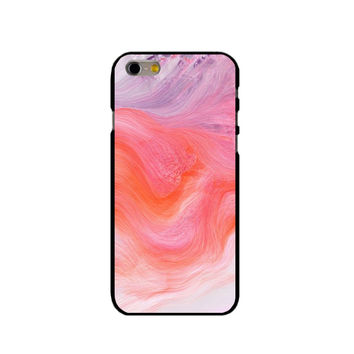 829 unique Pink texture marble Cover Case  for iphone 4S 5S 5C 6S 7 Plus iPod 4 5 Samsung Galaxy S2/3/4/5 Mini S6 Edge Plus