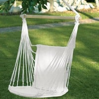 Cotton Padded Swing Chair  from Jannie's LiveDeals