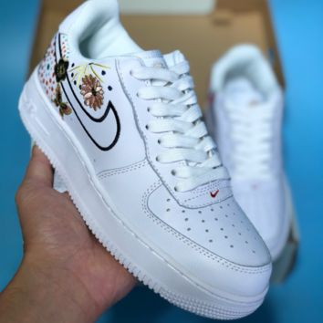 HCXX N365 Nike Air Force 1 AF1 China Annual Fireworks Embroidery Skate Shoes White