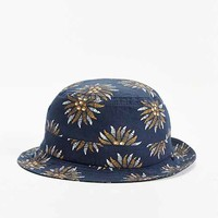 Brixton Floral Bucket Hat- Blue