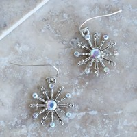 Altar'd State Iridescent Snowflake Earrings | Altar'd State