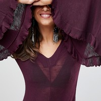 Free people Soo Dramatic Long Sleeved Top at asos.com