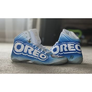 Oreo cookie theme - jb elites wrestling shoes