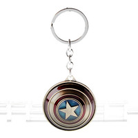 Marvel the Avengers Captain America Shield Keychain