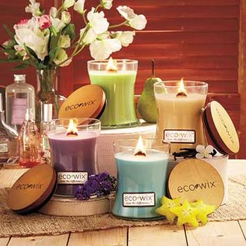 Eco Wix™ Woodwick Candles