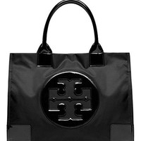 Tory Burch Nylon Ella Tote-Black