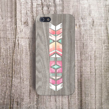 NATIVE iPhone Case Wood Print iPhone 4 Case Wood Print iphone 5 Case Wood Print iPhone5s Case Wood Print Galaxy S5 Case Smasung S4 Case boho