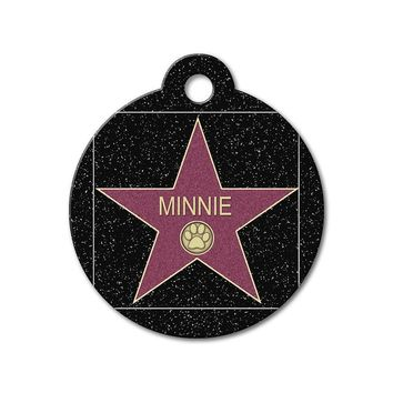 Hollywood Star - Cute Pet Tag