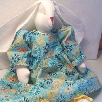 Stuffed Bunny Rabbit Rag Doll Child Friendly