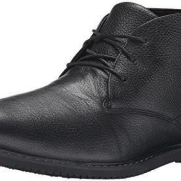 Timberland Men's Brook Park Insulated Chukka WP Boot, Black Fog, 8.5 M US