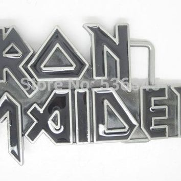 Iron Maiden Rock Music Belt Buckle