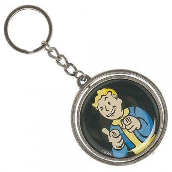 Fallout 4 Vault Boy/Nuka Cola Spinner Keychain by BioWorld