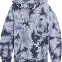 VOLCOM WASHED PULLI PULLOVER FLEECE