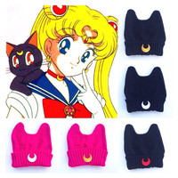 The Moon Cult Beanie Baby Sailor Moon Scount Kawaii Princess Cute Luna Cat Kitty