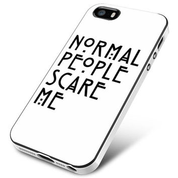 American Horror Story Normal People Scare Me iPhone 5 | 5S | 5SE Case Planetscase.com