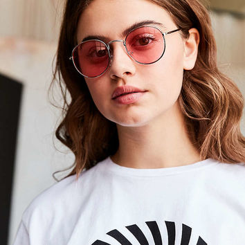 Daydream Metal Round Sunglasses - Urban Outfitters