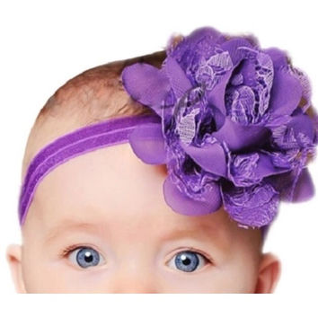 Large Flower Headband