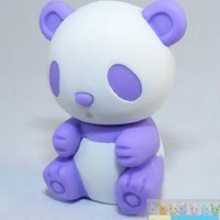 Iwako Animals: Purple Panda Eraser Iwako Erasers