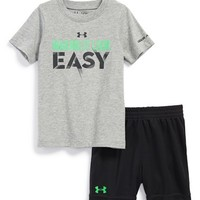 Infant Boy's Under Armour 'Making It Look Easy' T-Shirt & Shorts