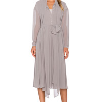 TY-LR The Isobele Dress in Stone