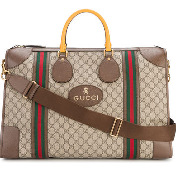 Leather Vintage Duffle Bag by Gucci