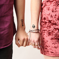 Open Sesame - Temporary Tattoo (Set of 2)