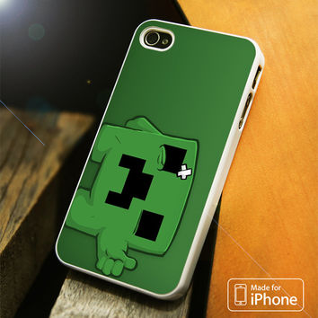 Minecraft Creeper iPhone 4(S),5(S),5C,SE,6(S),6(S) Plus Case