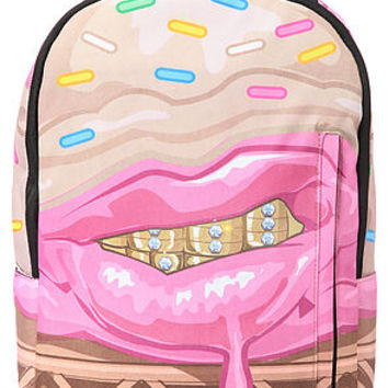 Sprayground Cupcake Mafia x Sprayground Ice Cream Grillz Backpack in Pink