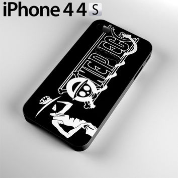 One Piece Manga Characters Case For iPhone 4 / 4S, 5C, 5 / 5S OP5