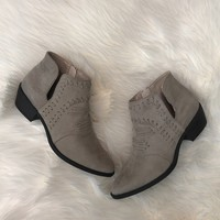 Not Your Average Bootie - Taupe