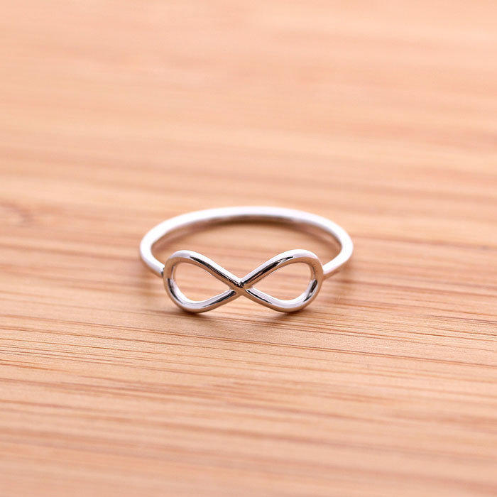 simple INFINITY ring, 3 colors | girlsluv.it