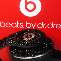 Customized Beats by Dre Headphones made with Swarovski Elements