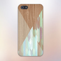 Stained Glass x Geometric Wood Design Case for iPhone 6 6 Plus iPhone 5 5s 5c iPhone 4 4s Samsung Galaxy s5 s4 & s3 and Note 4 3 2