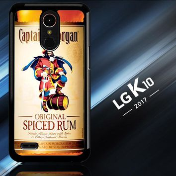 Captain Morgan Original Spiced Rum L2150 LG K10 2017 | LG K20 Plus | LG Harmony  Case