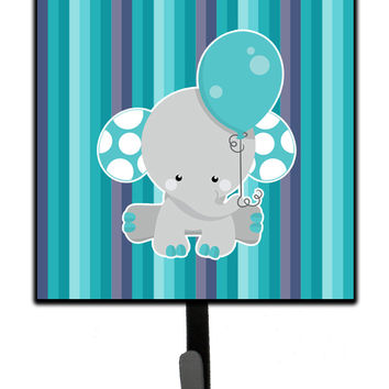 Grey Elephant with Balloon Leash or Key Holder BB6842SH4