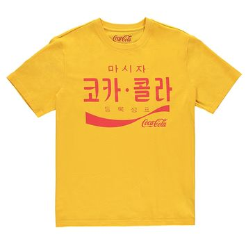 Korean Coca-Cola Graphic Tee