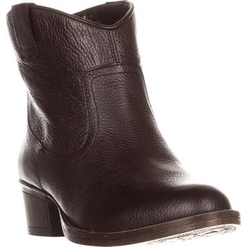 Kenneth Cole REACTION Hot Step Western Boots, Cocoa, 6 US / 36 EU