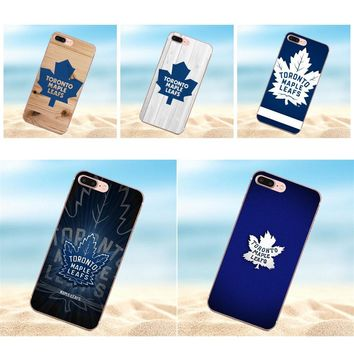 For LG G2 G3 mini spirit G4 G5 G6 K4 K7 K8 K10 2017 V10 V20 V30 Colorful Cute Phone Accessories Case Nhl Toronto Maple Leafs