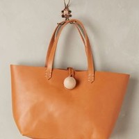 Eden Leather Tote by Monserat de Lucca Nude One Size Bags