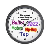 Dance Styles (#1) Wall Clock