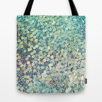 Mermaid Scales Tote Bag by Lisa Argyropoulos