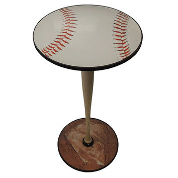 Baseball end table/ Night stand.