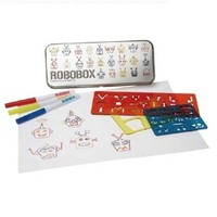 Robot Stencil Drawing Kit- Robobox