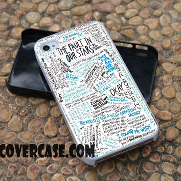 The Fault in Our Stars Quotes case for iPhone 4/4S/5/5S/5C/6/6+ case,samsung S3/S4/S5 case,samsung note 3/4 Case
