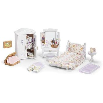 Calico Critters Girl's Lavender Bedroom Set