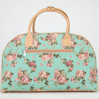 Floral Print Duffle Bag 246873523 | Luggage